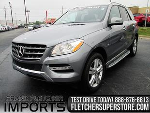 2012 Mercedes-Benz M-Class ML350 BlueTEC SUV for sale in Joplin for $41,775 with 30,423 miles.