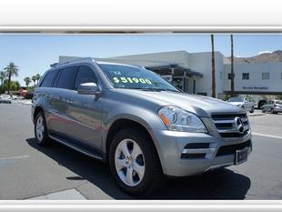 2012 Mercedes-Benz GL-Class SUV for sale in Palm Springs for $51,900 with 21,318 miles.