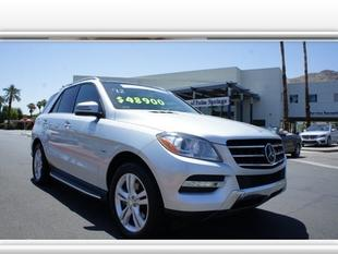 2012 Mercedes-Benz M-Class SUV for sale in Palm Springs for $48,900 with 29,953 miles.