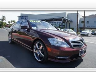 2013 Mercedes-Benz S-Class S550 Sedan for sale in Palm Springs for $82,900 with 21,593 miles.
