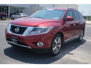 2014 Nissan Pathfinder Platinum SUV for sale in Temple for $36,950 with 9,945 miles.