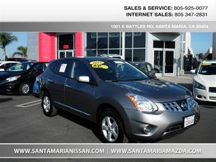 2013 Nissan Rogue S SUV for sale in Santa Maria for $19,995 with 15,585 miles.
