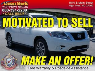 2014 Nissan Pathfinder SV SUV for sale in High Point for $25,947 with 12,991 miles.