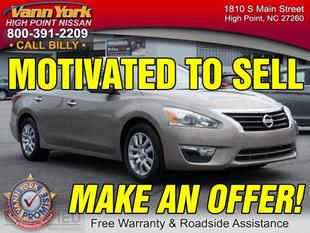 2013 Nissan Altima 2.5 S Sedan for sale in High Point for $16,947 with 43,048 miles.