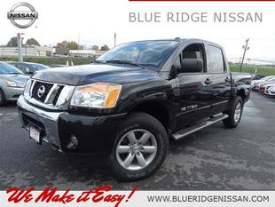 2013 Nissan Titan SV Crew Cab Pickup for sale in Wytheville for $33,160 with 8,501 miles.