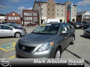 2012 Nissan Versa 1.6 SV Sedan for sale in Indiana for $12,985 with 23,461 miles.