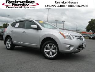 2011 Nissan Rogue SV SUV for sale in Lima for $21,364 with 34,866 miles.