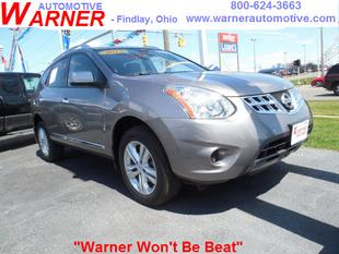 2013 Nissan Rogue SV SUV for sale in Findlay for $22,396 with 4,391 miles.