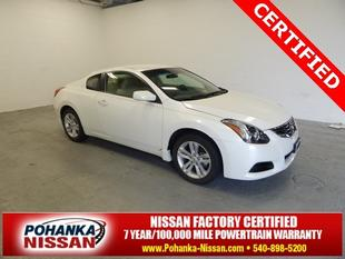 2013 Nissan Altima 2.5 S Coupe for sale in Fredericksburg for $17,489 with 5,363 miles.