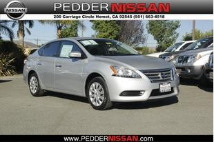 2014 Nissan Sentra S Sedan for sale in Hemet for $17,995 with 4,648 miles.