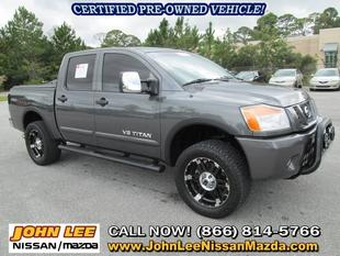2011 Nissan Titan Pro-4X Crew Cab Pickup for sale in Panama City for $31,806 with 37,112 miles.