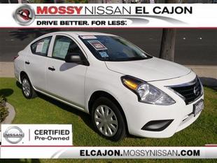 2015 Nissan Versa 1.6 S Sedan for sale in El Cajon for $15,980 with 3,049 miles.