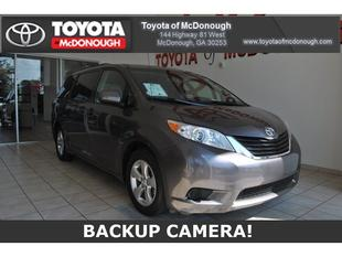 2013 Toyota Sienna Minivan for sale in McDonough for $21,758 with 38,244 miles.