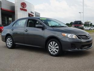 2013 Toyota Corolla LE Sedan for sale in Memphis for $17,991 with 10,497 miles.