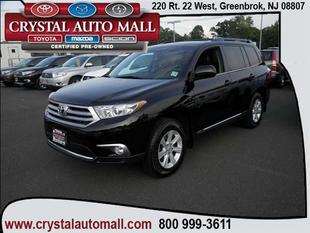 2012 Toyota Highlander SUV for sale in Green Brook for $28,399 with 40,842 miles.