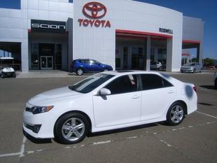 2012 Toyota Camry SE Sedan for sale in Roswell for $21,500 with 23,101 miles.