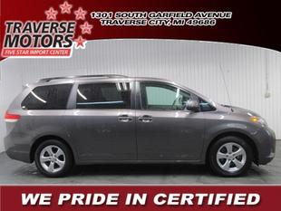 2013 Toyota Sienna Minivan for sale in Traverse City for $21,900 with 26,913 miles.