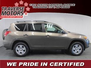 2011 Toyota RAV4 Base SUV for sale in Traverse City for $17,956 with 30,865 miles.