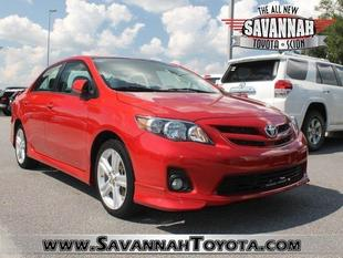 2013 Toyota Corolla Sedan for sale in Savannah for $17,991 with 23,124 miles.