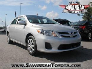 2013 Toyota Corolla Sedan for sale in Savannah for $16,991 with 28,343 miles.