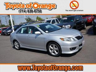 2010 Toyota Camry SE Sedan for sale in Orange for $17,999 with 69,331 miles.