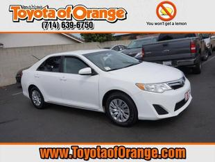 2012 Toyota Camry LE Sedan for sale in Orange for $17,499 with 30,017 miles.