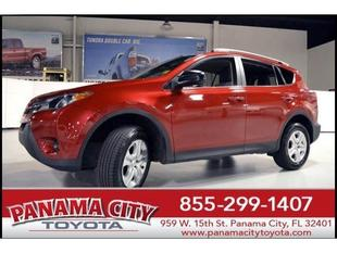 2013 Toyota RAV4 SUV for sale in Panama City for $22,427 with 33,754 miles.