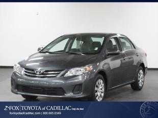 2013 Toyota Corolla LE Sedan for sale in Cadillac for $14,995 with 33,281 miles.