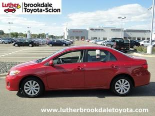 2012 Toyota Corolla LE Sedan for sale in Minneapolis for $13,993 with 22,389 miles.