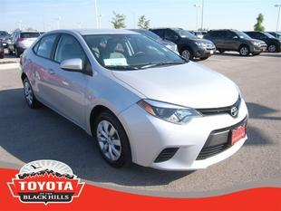 2014 Toyota Corolla Sedan for sale in Rapid City for $17,990 with 16,021 miles.