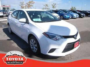 2014 Toyota Corolla Sedan for sale in Rapid City for $17,490 with 20,029 miles.