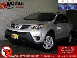 2013 Toyota RAV4 SUV for sale in Wilsonville for $24,700 with 15,358 miles.