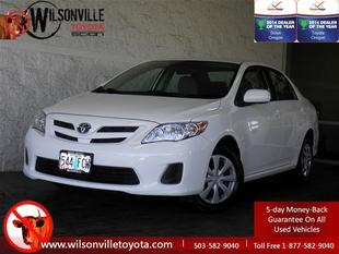 2011 Toyota Corolla LE Sedan for sale in Wilsonville for $12,981 with 56,565 miles.