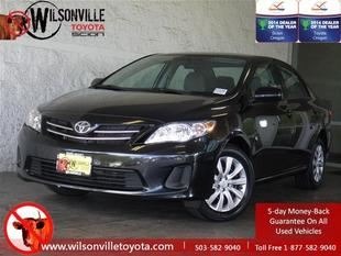 2013 Toyota Corolla LE Sedan for sale in Wilsonville for $15,994 with 33,907 miles.