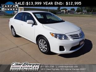 2013 Toyota Corolla LE Sedan for sale in Emporia for $14,995 with 42,445 miles.