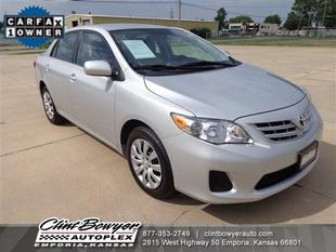 2013 Toyota Corolla LE Sedan for sale in Emporia for $15,995 with 37,205 miles.