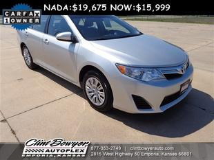 2013 Toyota Camry Sedan for sale in Emporia for $18,995 with 24,432 miles.