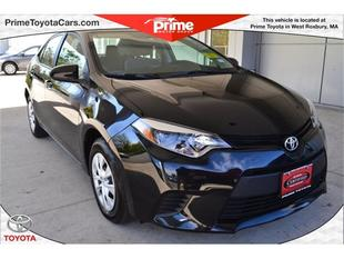 2014 Toyota Corolla Sedan for sale in West Roxbury for $17,200 with 9,587 miles.