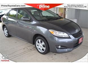 2010 Toyota Matrix S Hatchback for sale in West Roxbury for $15,200 with 25,605 miles.