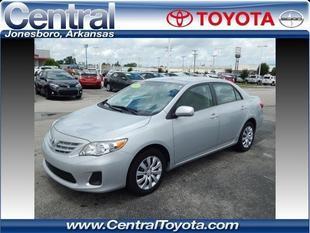 2013 Toyota Corolla LE Sedan for sale in Jonesboro for $14,995 with 36,790 miles.