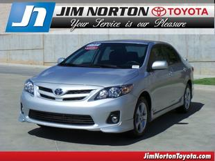 2012 Toyota Corolla S Sedan for sale in Tulsa for $15,993 with 20,193 miles.