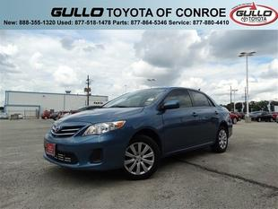 2013 Toyota Corolla LE Sedan for sale in Conroe for $15,745 with 15,954 miles.