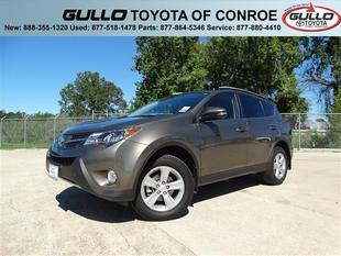 2013 Toyota RAV4 SUV for sale in Conroe for $23,189 with 15,598 miles.