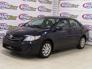 2013 Toyota Corolla LE Sedan for sale in El Paso for $18,995 with 30,639 miles.