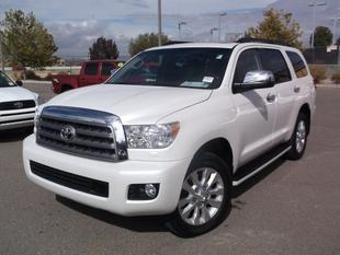 2014 Toyota Sequoia SUV for sale in Albuquerque for $64,020 with 5,137 miles.