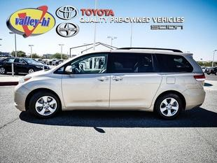2013 Toyota Sienna Minivan for sale in Victorville for $23,997 with 46,004 miles.