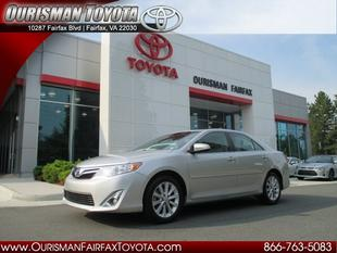 2012 Toyota Camry XLE Sedan for sale in Fairfax for $20,975 with 24,314 miles.
