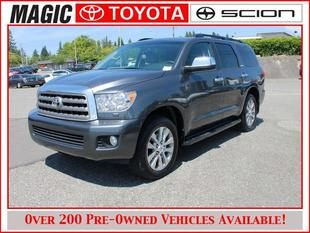 2014 Toyota Sequoia SUV for sale in Edmonds for $55,888 with 16,360 miles.