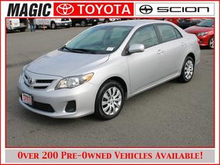 2012 Toyota Corolla LE Sedan for sale in Edmonds for $14,988 with 23,571 miles.
