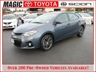 2014 Toyota Corolla S Plus Sedan for sale in Edmonds for $19,995 with 8,137 miles.